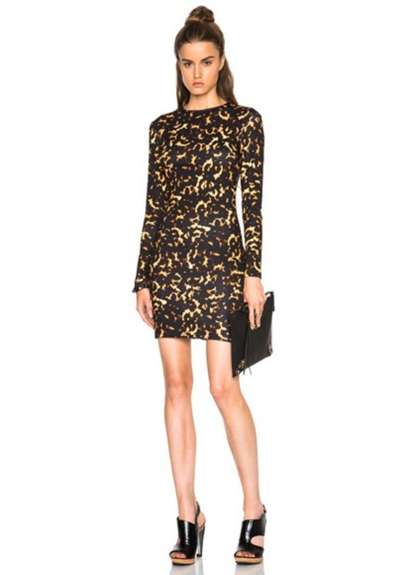 McQ Alexander McQueen Long Sleeve Mini Dress