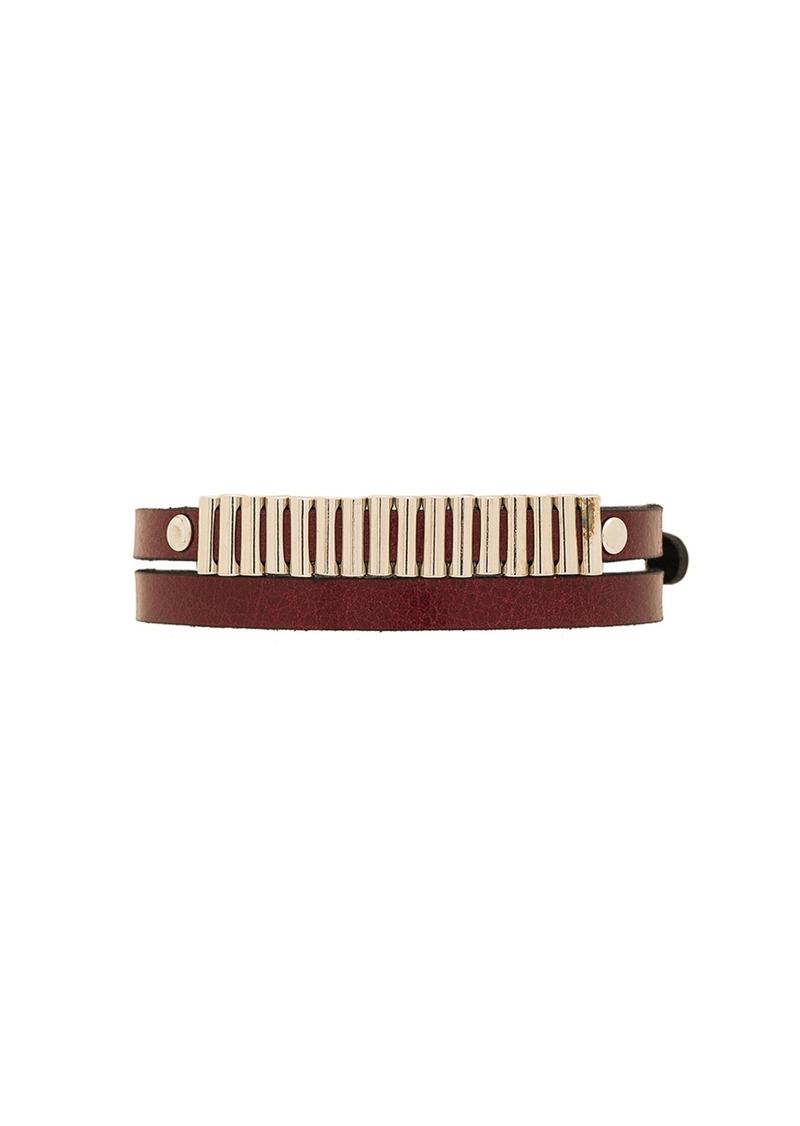 McQ Alexander McQueen Mini Bullets Wrap Bracelet