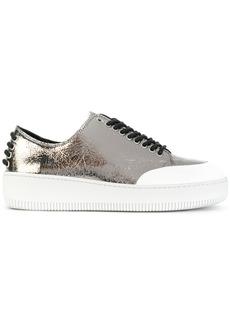 McQ Alexander McQueen Netil eyelet sneakers - Metallic
