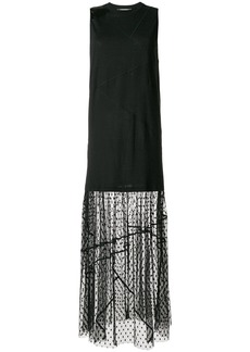 McQ Alexander McQueen panelled dress - Black