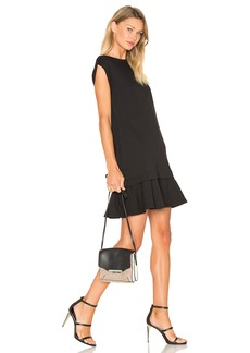 McQ Alexander McQueen Peplum Sweat Dress