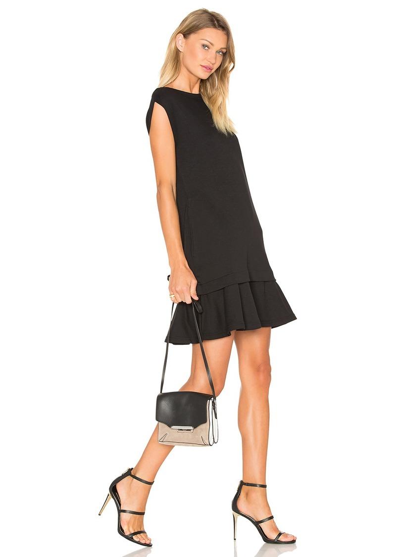 McQ Alexander McQueen Peplum Sweat Dress