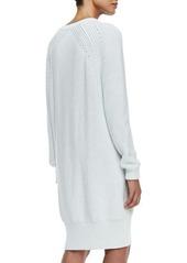 McQ Alexander McQueen Ribbed Lightweight Sweaterdress