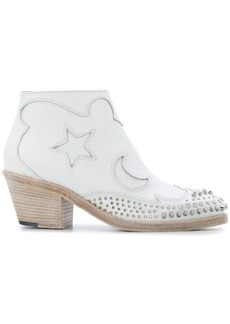 McQ Alexander McQueen Solstice studded ankle boots - White