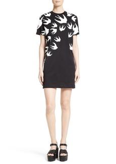 McQ Alexander McQueen Swallow T-Shirt Dress