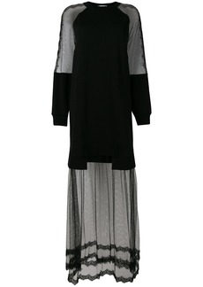 McQ Alexander McQueen transparent style dress