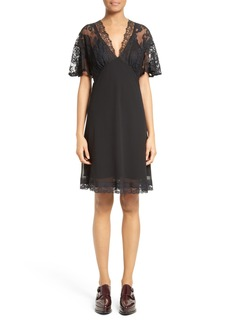 McQ Alexander McQueen Volant Lace Dress