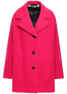 Mcq Alexander Mcqueen Woman Boiled Wool Coat Bright Pink