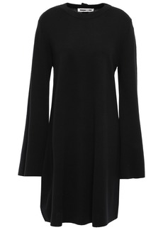 Mcq Alexander Mcqueen Woman Button-embellished Wool Dress Black