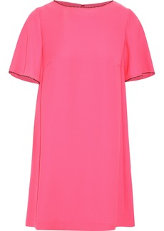 Mcq Alexander Mcqueen Woman Crystal-embellished Cady Mini Dress Bubblegum