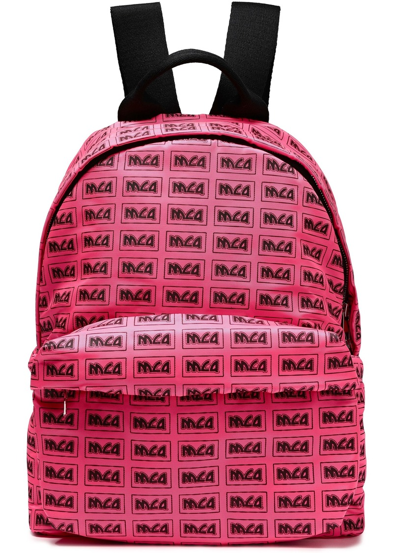 Mcq Alexander Mcqueen Woman Printed Shell Backpack Pink