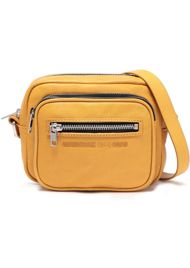 Mcq Alexander Mcqueen Woman Mini Leather Shoulder Bag Mustard