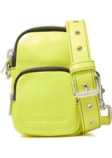 Mcq Alexander Mcqueen Woman Neon Leather Shoulder Bag Bright Yellow