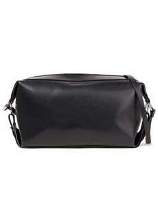 Mcq Alexander Mcqueen Woman Noise Small Leather Shoulder Bag Black