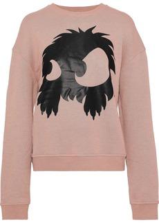 Mcq Alexander Mcqueen Woman Printed French Cotton-terry Sweatshirt Blush