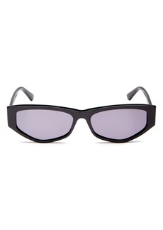 McQ Alexander McQueen Women's Rectangle Sunglasses, 56mm