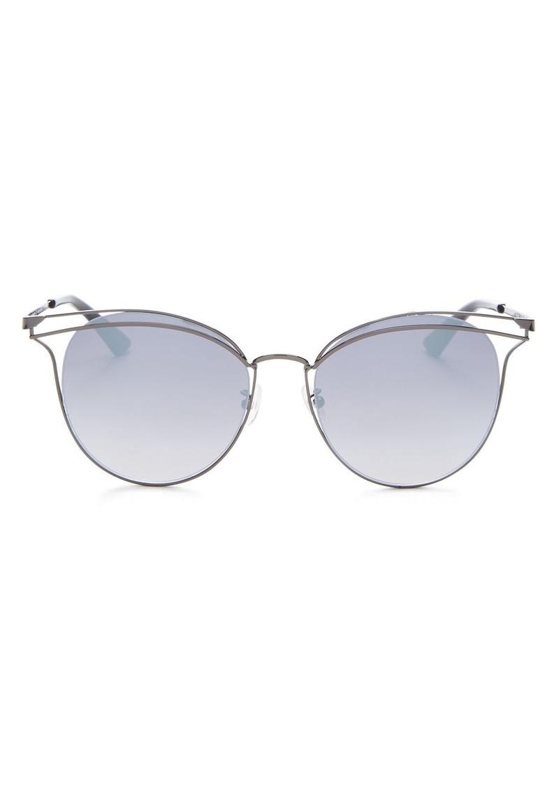 McQ Alexander McQueen Women's Round Sunglasses, 56mm
