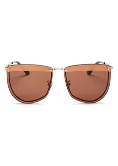 McQ Alexander McQueen Women's Square Sunglasses, 61mm