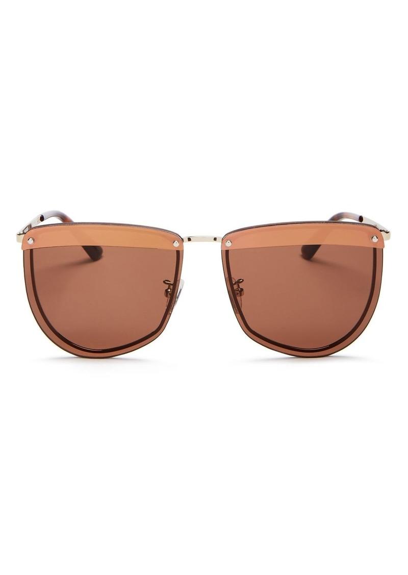 McQ Alexander McQueen Women's Square Sunglasses, 61mm