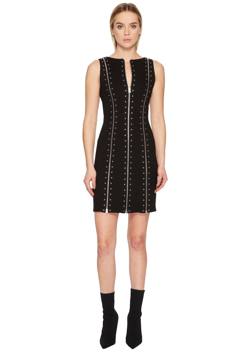 McQ Alexander McQueen Biker Zip Dress