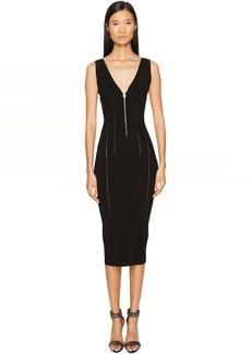 McQ Alexander McQueen Body Block Zip Dress