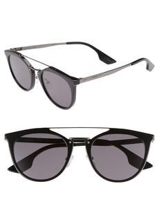 McQ Alexander McQueen McQ by Alexander McQueen 53mm Round Sunglasses