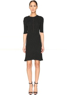 McQ Alexander McQueen Crochet Skater Dress