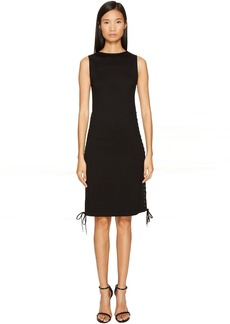 McQ Alexander McQueen Eyelet Long Dress