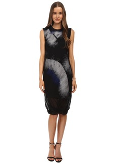 McQ Feather Dress