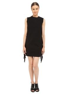 McQ Fringe Sleeve Dress