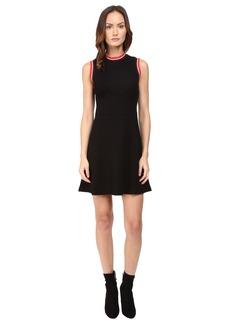 McQ High Neck A-Line Dress