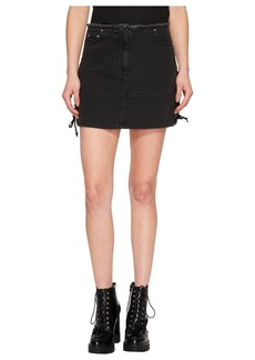 McQ Alexander McQueen Laced Mini Skirt