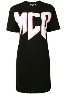 McQ Alexander McQueen McQ logo T-shirt dress