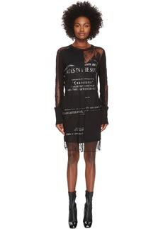 McQ Short Cut Up Souther Gothic Dress