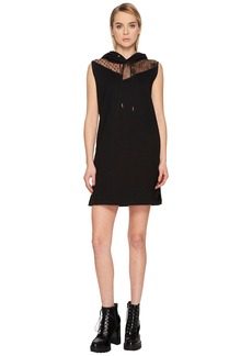 McQ Alexander McQueen Sleeveless Hoodie Dress