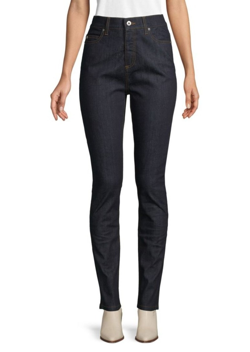 McQ Alexander McQueen Mid-Rise Super Skinny Jeans