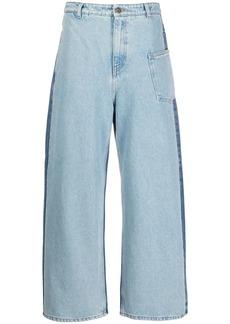 McQ Alexander McQueen mid rise wide-leg jeans
