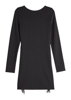 McQ Alexander McQueen Mini Dress with Eyelets