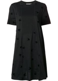 McQ Alexander McQueen mini swallow babydoll dress