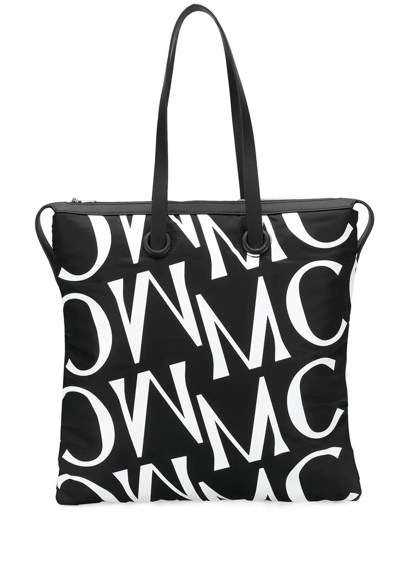 McQ Alexander McQueen monogram print tote