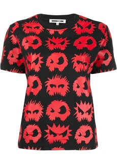 McQ Alexander McQueen monster pattern T-shirt