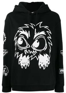 McQ Alexander McQueen monster print hoodie