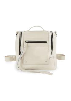 McQ Alexander McQueen Multi-Zip Leather Backpack