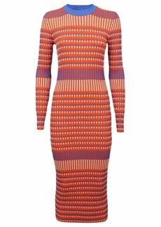 McQ Alexander McQueen Multicolor Cotton Dress