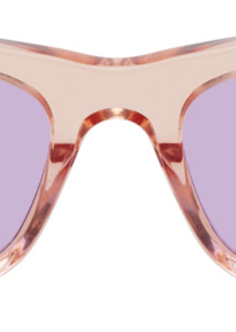 McQ Alexander McQueen Orange & Tortoiseshell MQ0250S Sunglasses