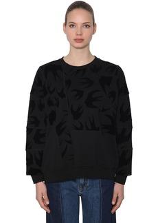 McQ Alexander McQueen Over Swallows Patchwork Sweatshirt