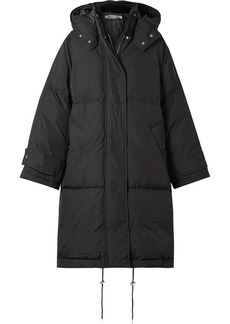 McQ Alexander McQueen Oversized Hooded Quilted Shell Down Coat