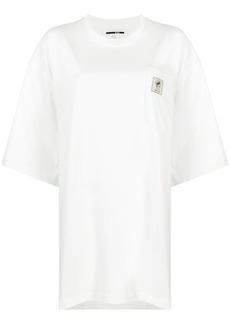 McQ Alexander McQueen oversized logo patch T-shirt
