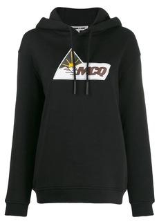 McQ Alexander McQueen oversized logo print hoodie