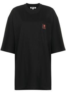 McQ Alexander McQueen oversized logo print T-shirt